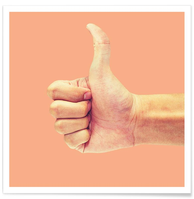 Lustig, Thumb up Yourself -Poster