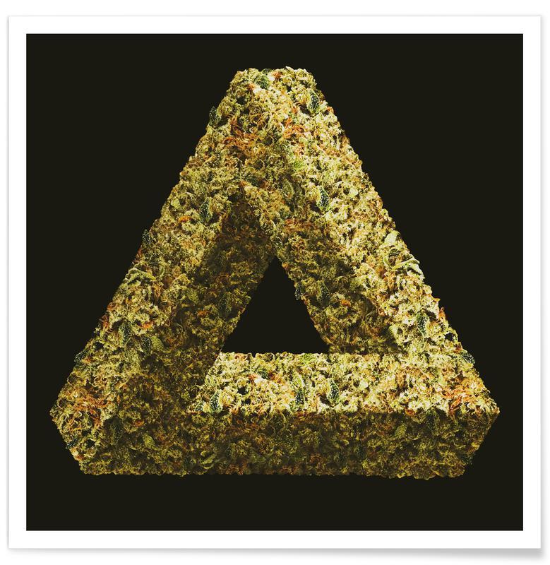 Lustig, Weed Penrose Triangle -Poster