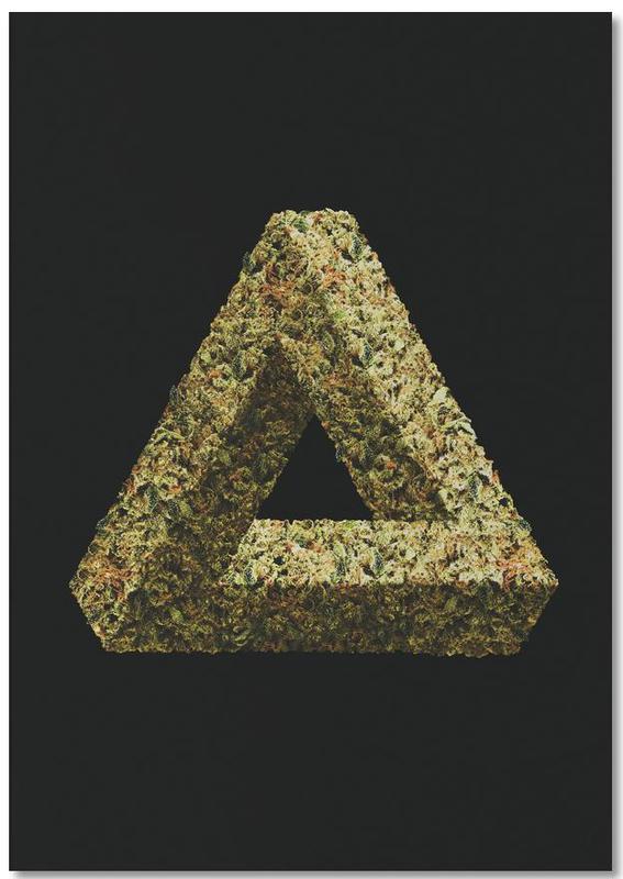 Weed Penrose Triangle -Notizblock