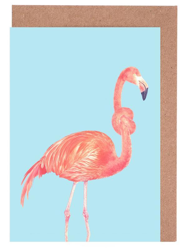 Flamingo with a Big Problem -Grußkarten-Set