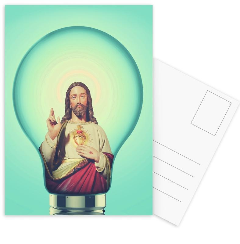 …And God Said There Was Light... -Postkartenset