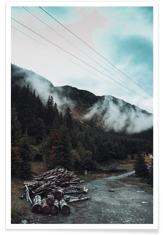 Forêts, Hazy Mornings affiche