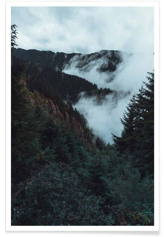 Forests, Misty Forest Poster