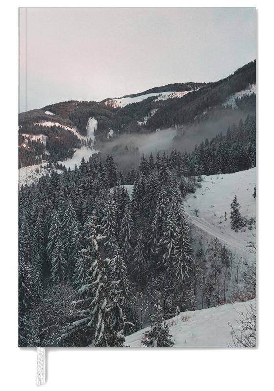 Bergen, Bossen, Snowy Peaks in the Alps agenda