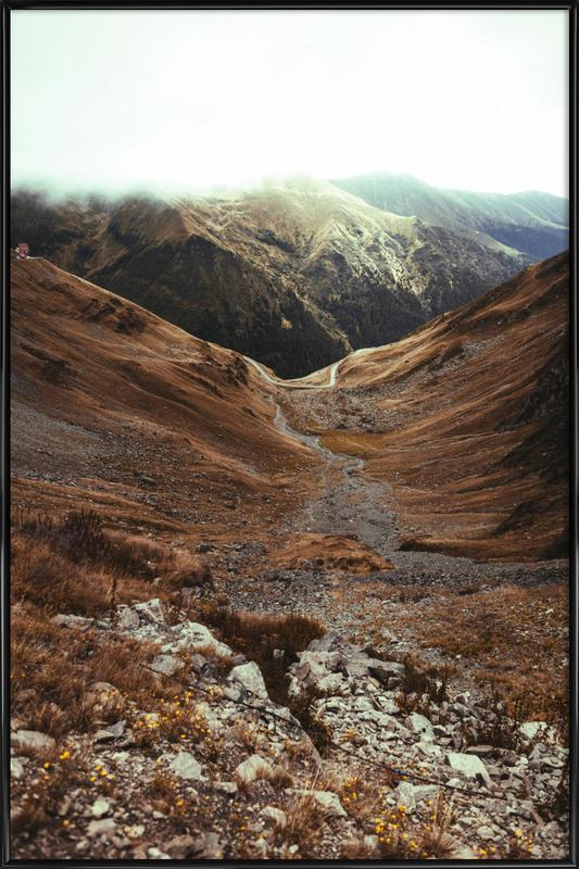 Mountains IX Framed Poster