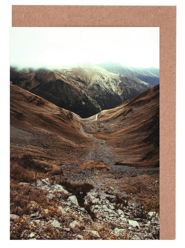 Mountains IX -Grußkarten-Set
