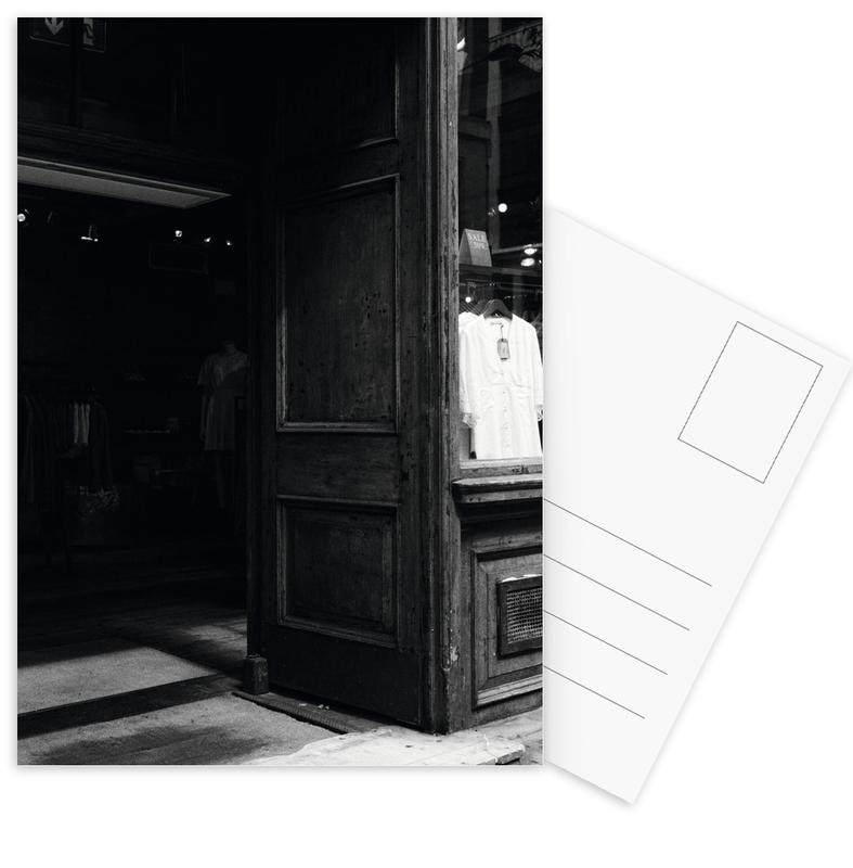 London, Black & White, London Vibes Postcard Set
