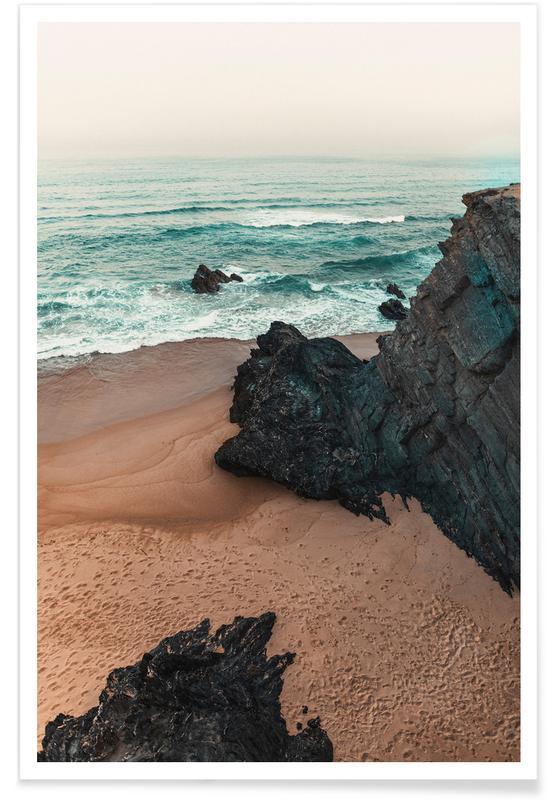 Strände, Antlantic Ocean Coast -Poster
