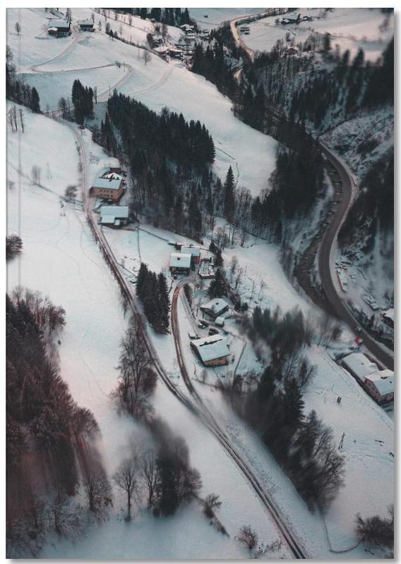 Austrian Winter Wonderland Notebook