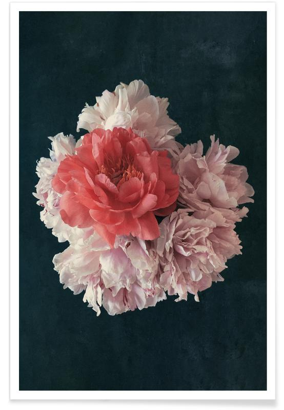 Floral — Decorative Blossoms In A Bouquet Of Flowers affiche