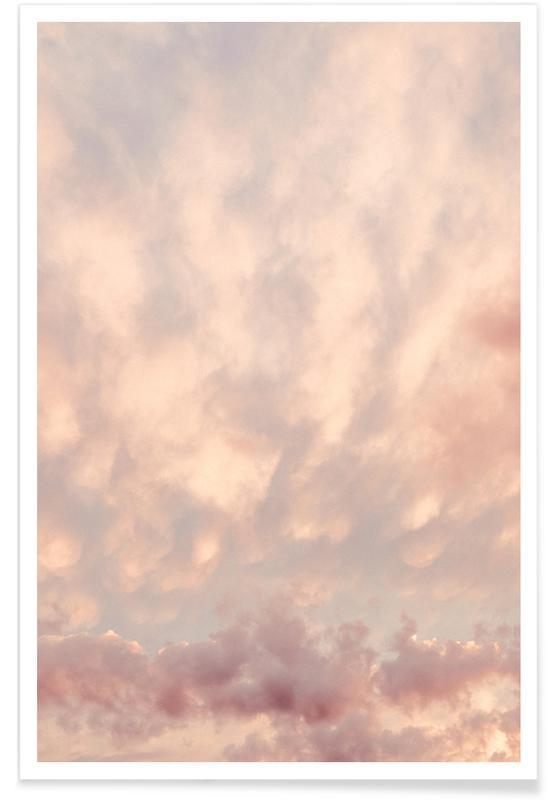 Lucht en wolken, Nature — Pastel Skies poster