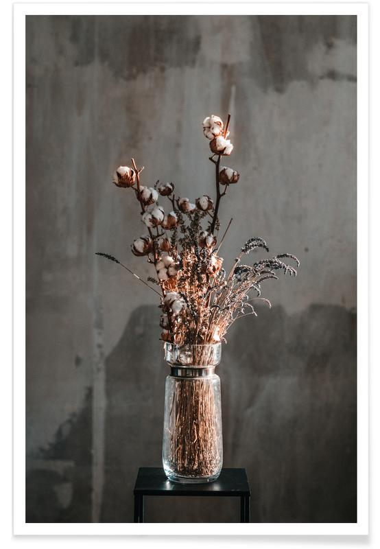 Congratulations, Weddings, Decorative — Winter Bouquet Poster
