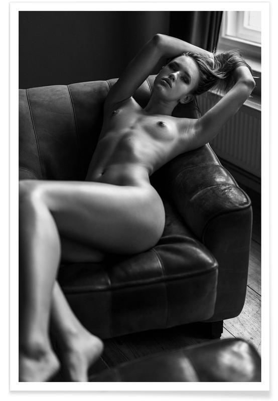 Black & White, Nude, Helen VI Poster