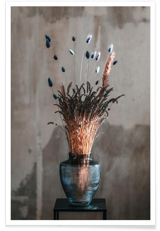 Congratulations, Weddings, Decorative Bouquet Of Lavendel Poster