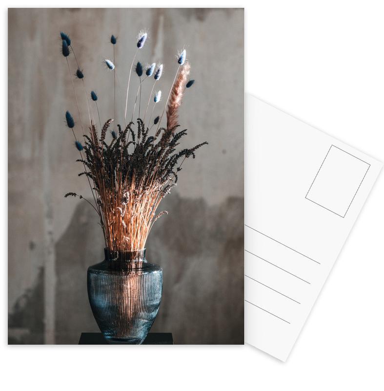 Congratulations, Weddings, Decorative Bouquet Of Lavendel Postcard Set