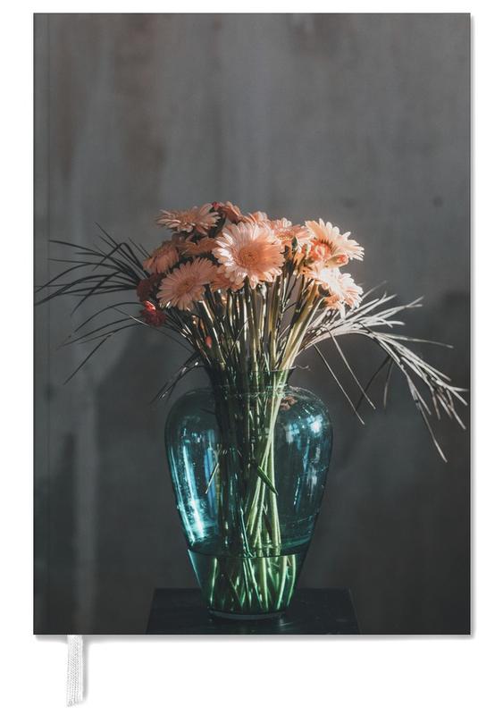 Felicitaties, Trouwen en bruiloften, Decorative Dark Bouquet Of Flowers agenda
