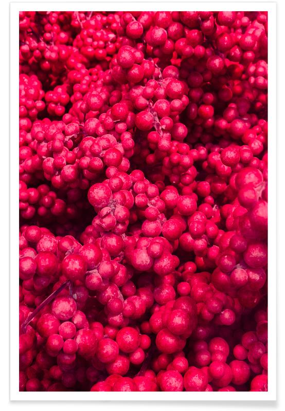 , Fruity Pinkness Poster