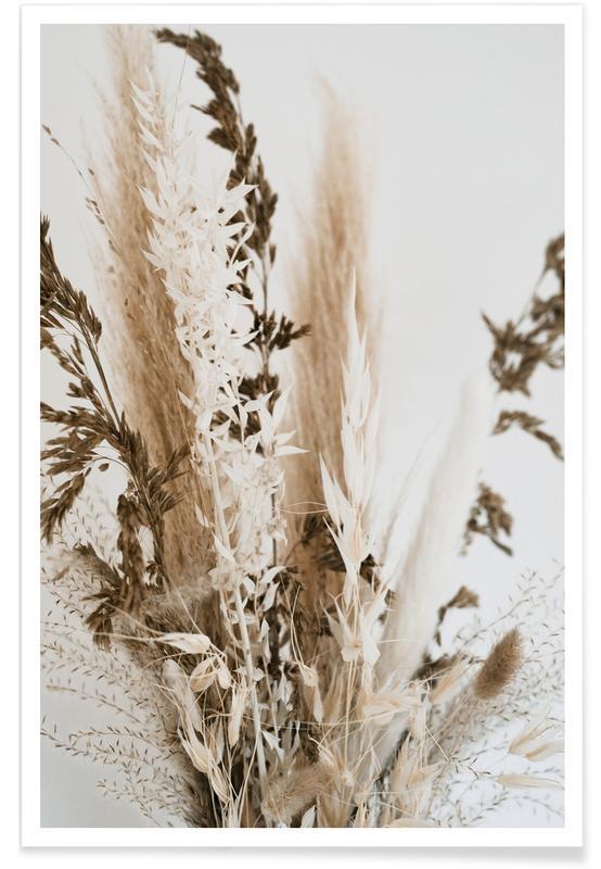 Blätter & Pflanzen, Decorative Bunch -Poster