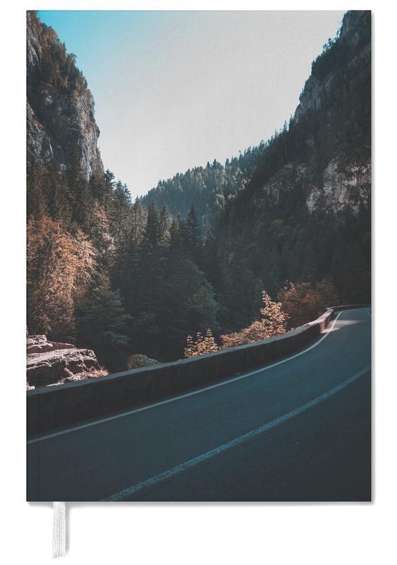 Abstrakte Landschaften, Wälder, Mountain Street -Terminplaner