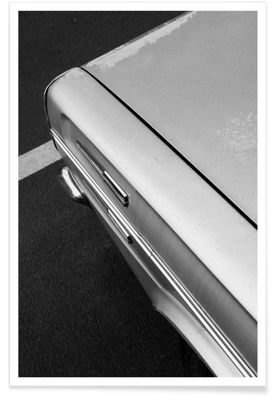 Paysages abstraits, Voitures, Abstract Dodge affiche