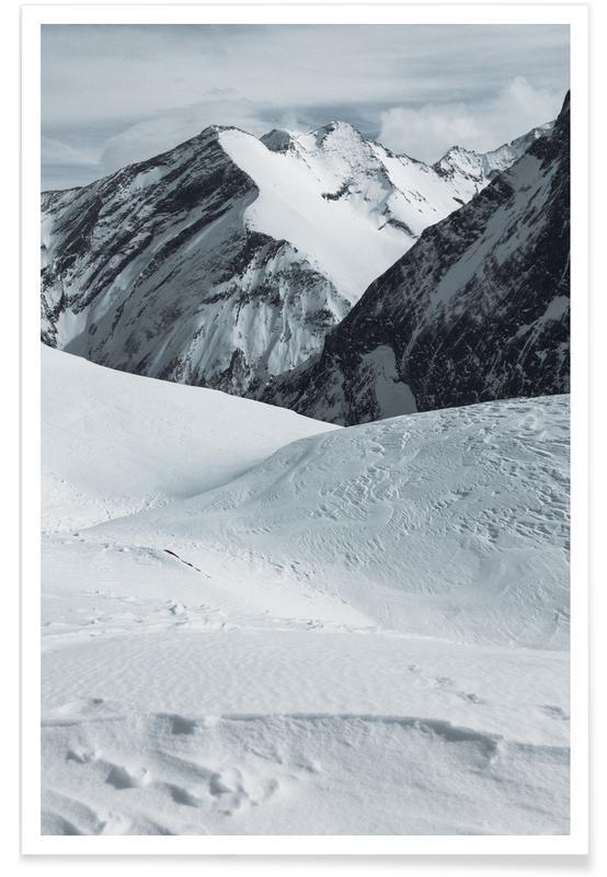 Montagnes, Mountains XVII affiche