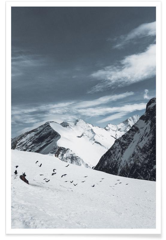 Bergen, Mountains XVIII poster