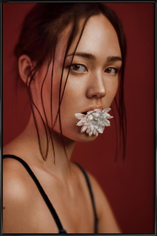 Flower I Framed Poster