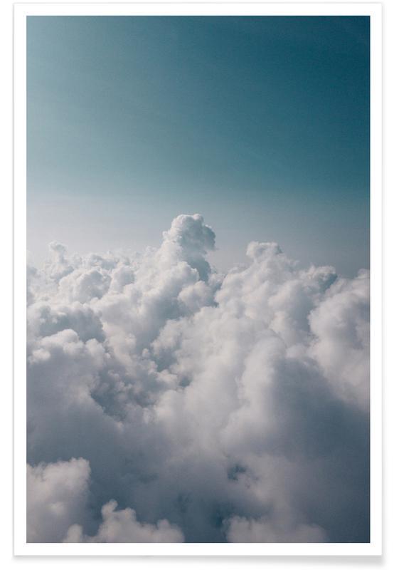 Lucht en wolken, Clouds I poster