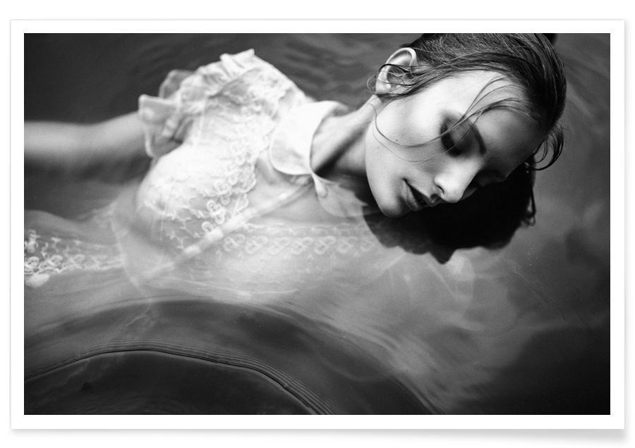 Zwart en wit, Modefotografie, New Ways II poster
