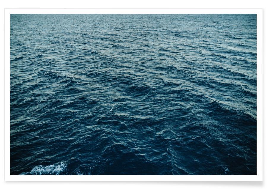 Oceanen, zeeën en meren, Sea II poster