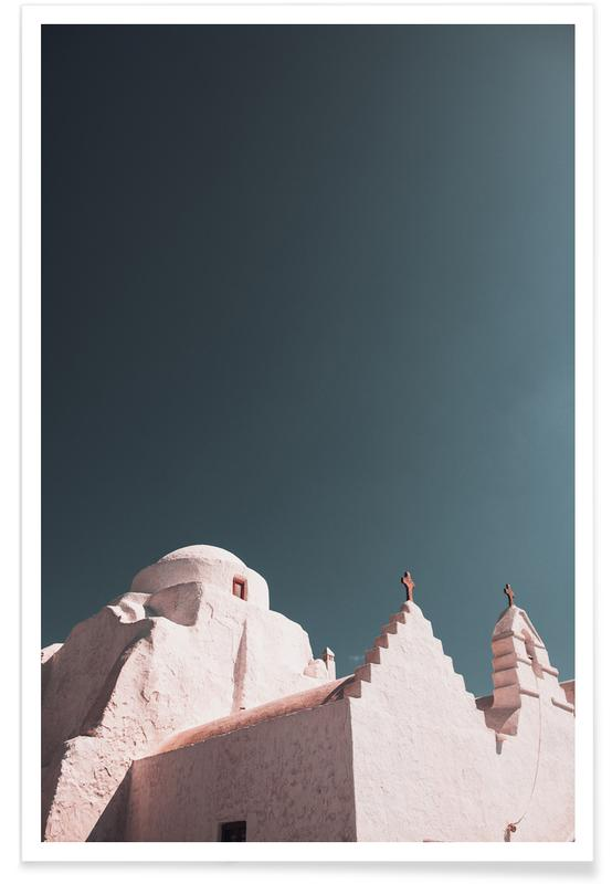 Architectural Details, Greece XXXI Poster