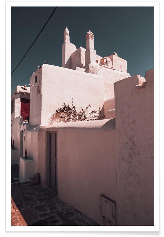 Détails architecturaux, Greece XXXIV affiche