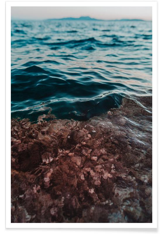 Océans, mers & lacs, Water II affiche