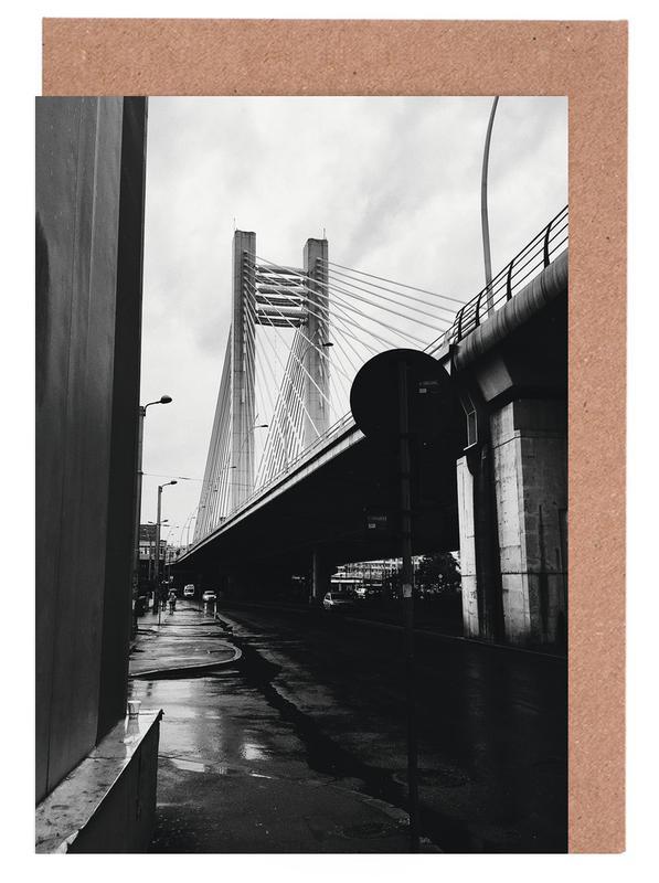 Schwarz & Weiß, Brücken, URBN VIII -Grußkarten-Set