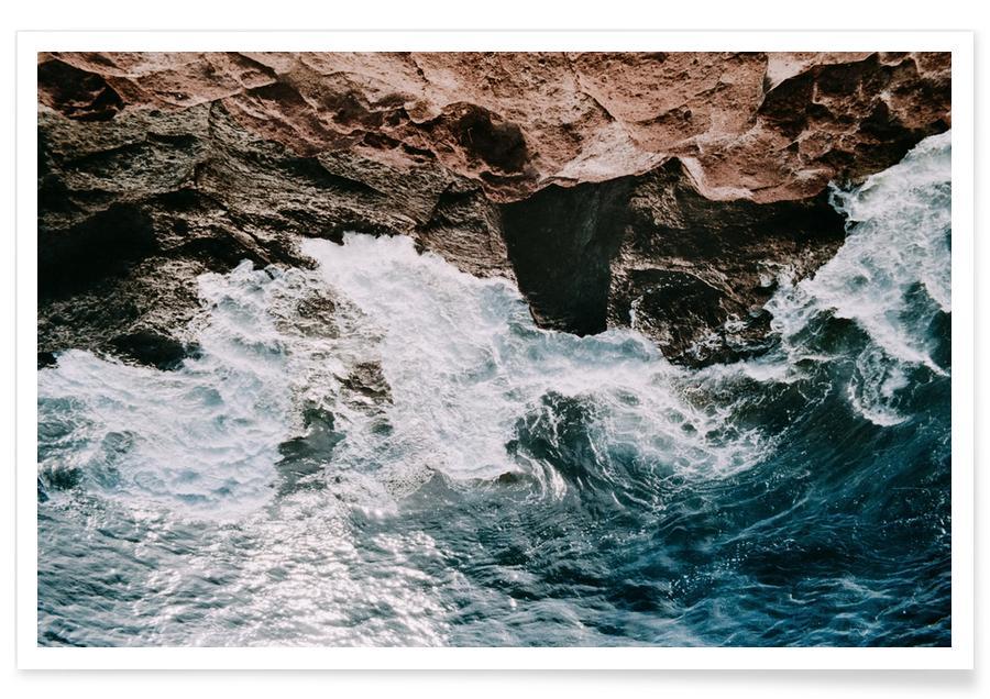 Océans, mers & lacs, Shores IX affiche