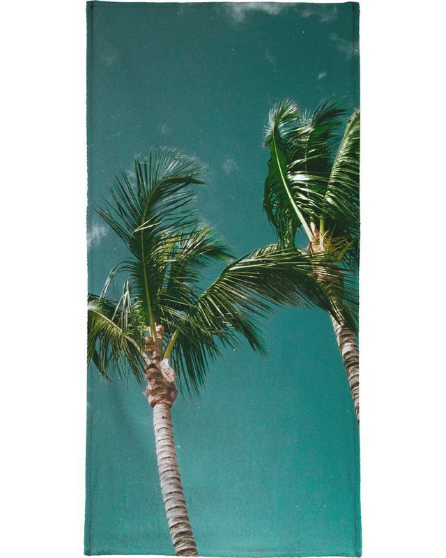 Tropical Palms Beach Towel