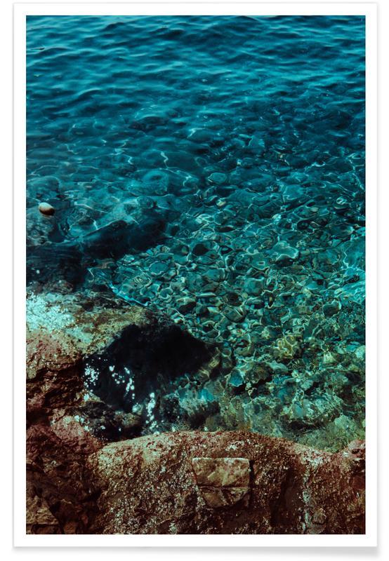 Océans, mers & lacs, Blue Shores affiche