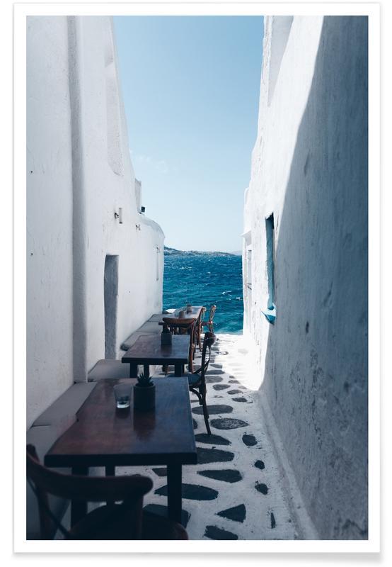 Détails architecturaux, Dreamy Coffee Corner affiche