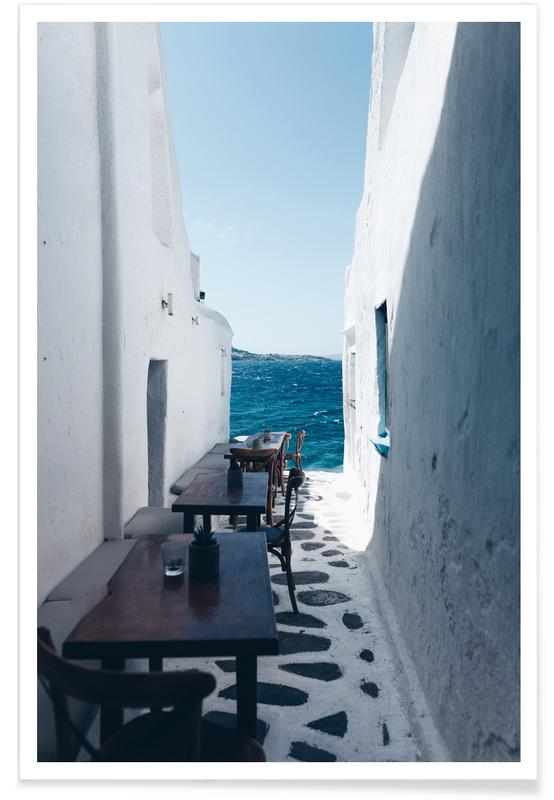 Dreamy Coffee Corner Poster