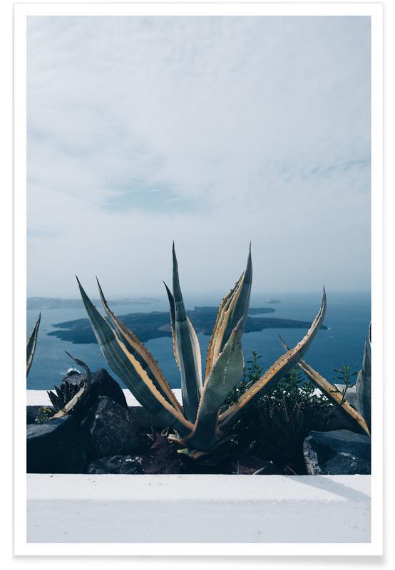 Santorini -Poster