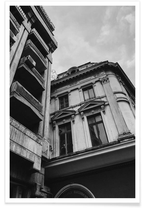 Architectonische details, Zwart en wit, Architectural Love II poster