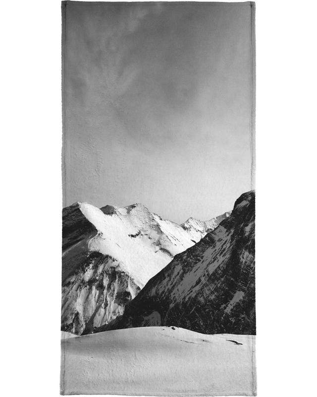 Mountains IV Beach Towel