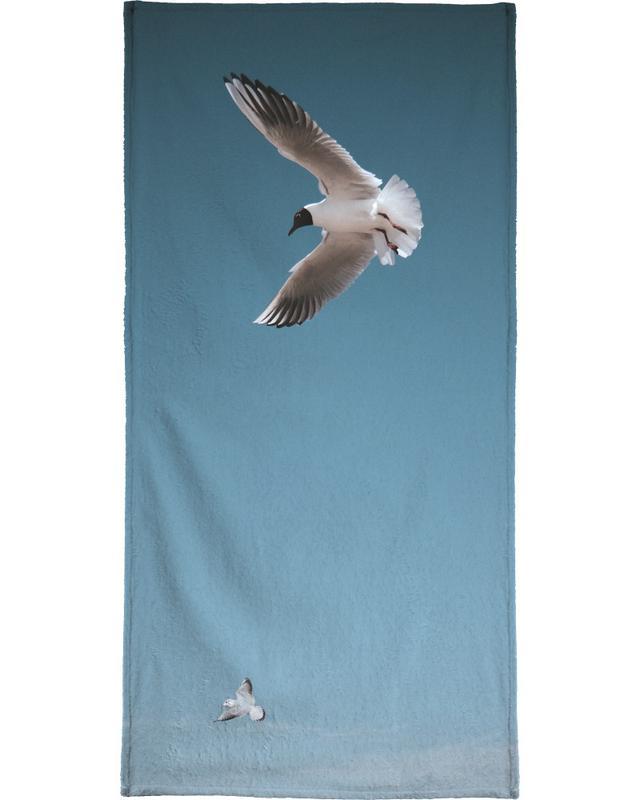 Seagulls I Bath Towel