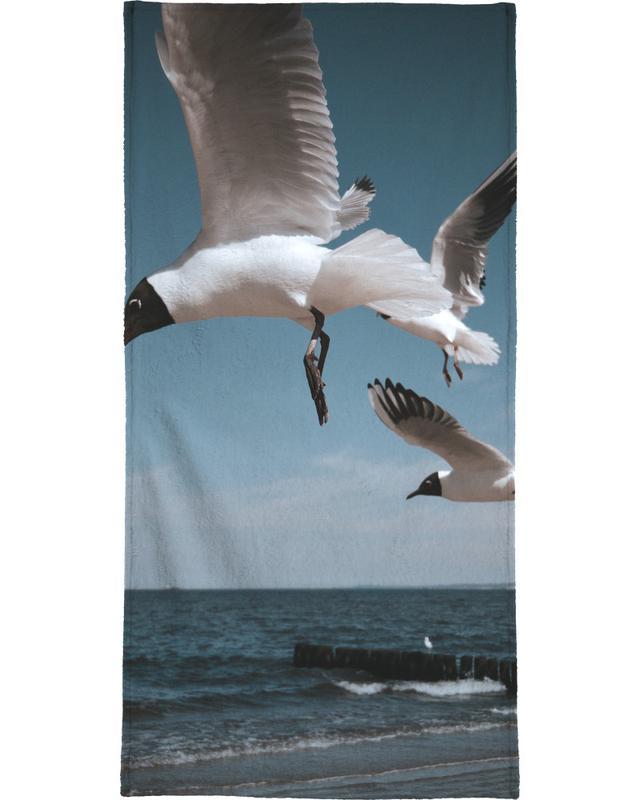 Seagulls VIII Beach Towel