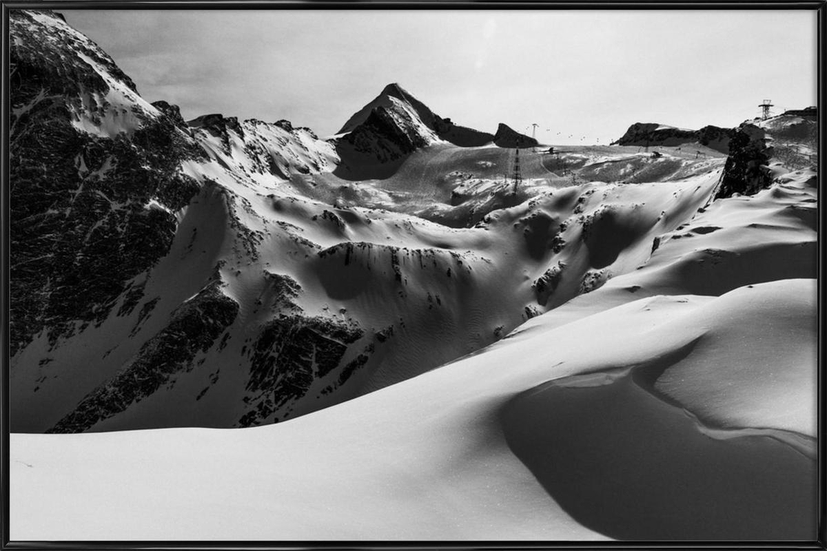 Mountains V Framed Poster