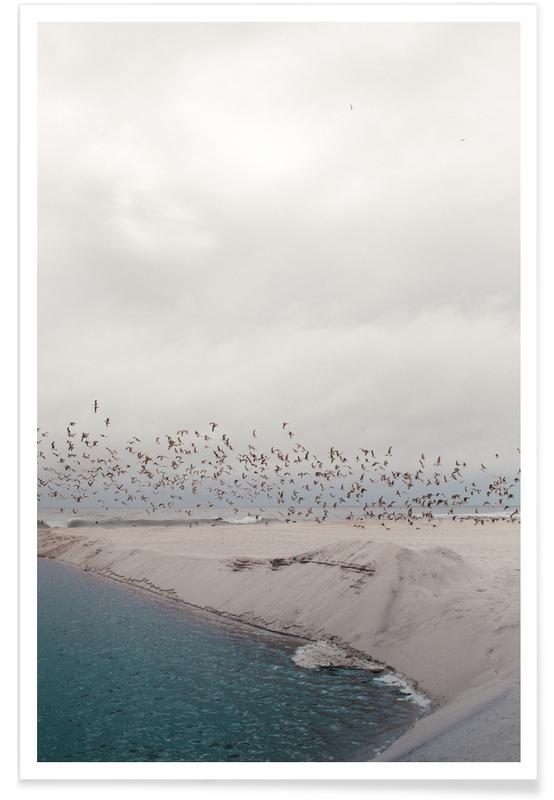 Plages, Portugal Beach affiche