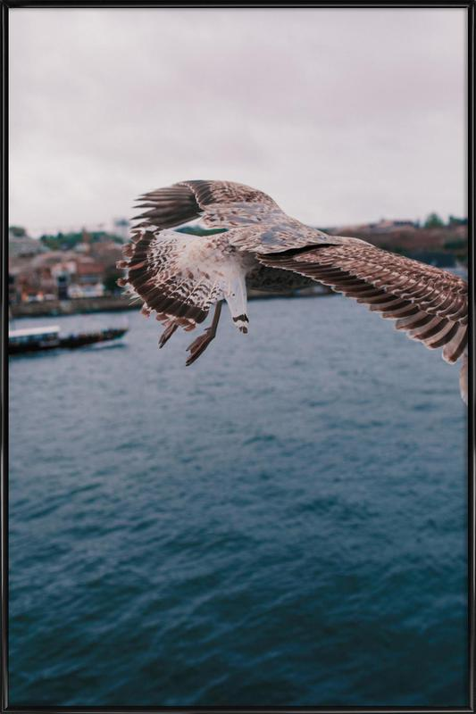 Seaside -Bild mit Kunststoffrahmen