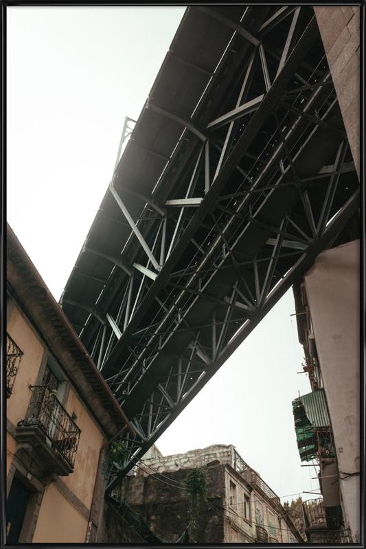 Bridge in Porto Framed Poster