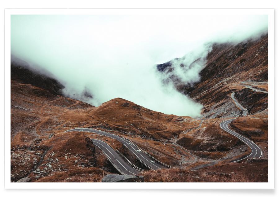 Montagnes, Mountains VII affiche