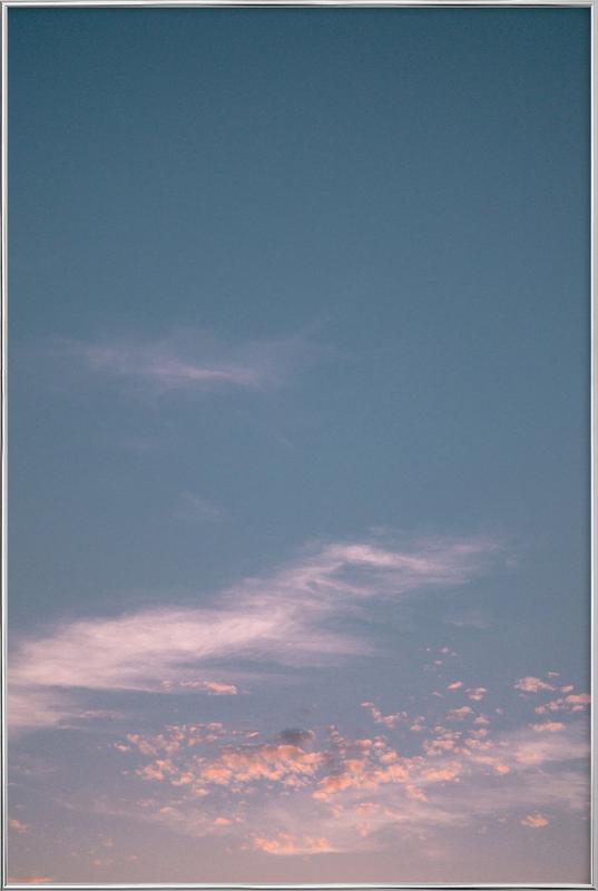 Dreamy Skies III poster in aluminium lijst